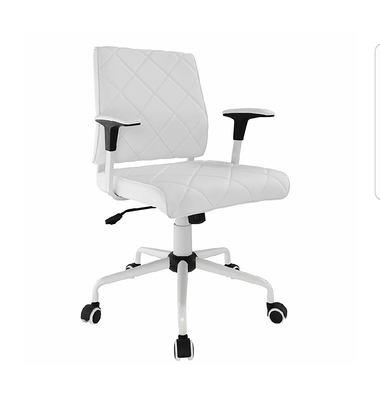 Modway Lattice Vinyl Office Chair, White