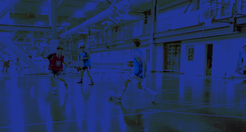 Background watermark of Alianza Futsal Practice in action