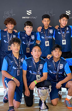 Cadete Category image of team players.
