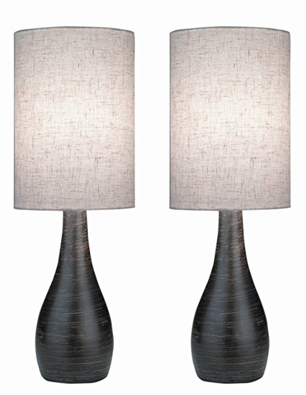 Lite Source LS-2996/2PK Quatro Table Lamp