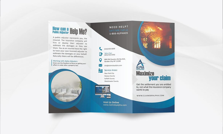 Tri-Fold Brochure Design (Outer)