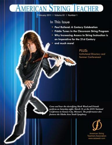 American String Teacher's Association (ASTA) Cover Story
