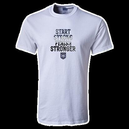 Alianza Futsal Gear   Start Strong Finish Stronger Tee Shirt