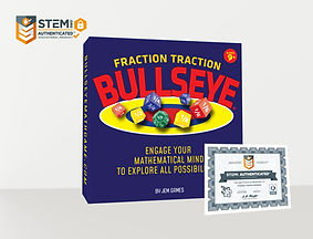 Fraction Traction Box with Stem Badge &