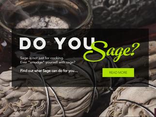 DO YOU SAGE?