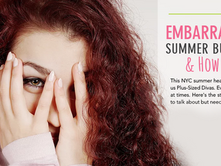 EMBARRASSING SUMMER BUMMERS & HOW TO DEAL