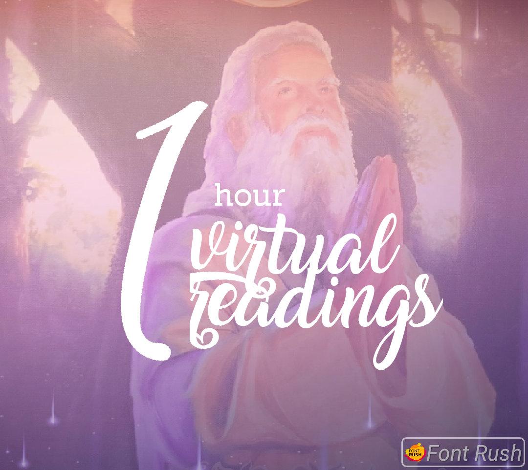 1 Hour Virtual Reading