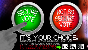Call to Action: Tell Your Senators to Secure Our Elections