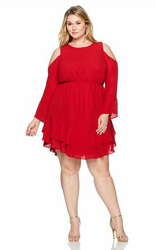 RACHEL Rachel Roy Women's Plus Size Coco Dress