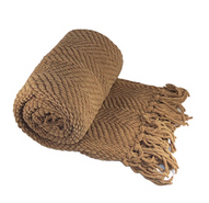 BOON Knitted Tweed Throw Couch Cover Blanket, 50 x 60, Amphora.PNG