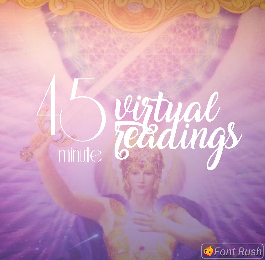 45 Minute Virtual Reading