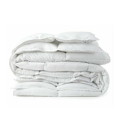 White Goose Down Alternative Comforter, Full/Queen with Corner Tab