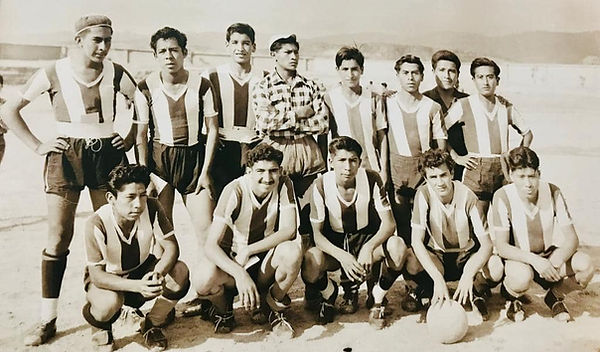 Image of the very first Alianza club formed back in the 1950s.