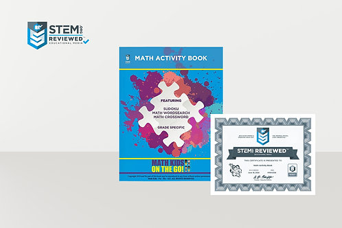 Math Kids on the Go Activity Book