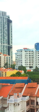 A city stuck between the living and the dead. Weaving between the old and the new in Singapore