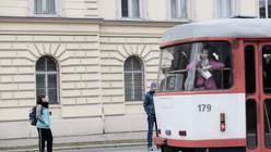 Tramming through Olomouc