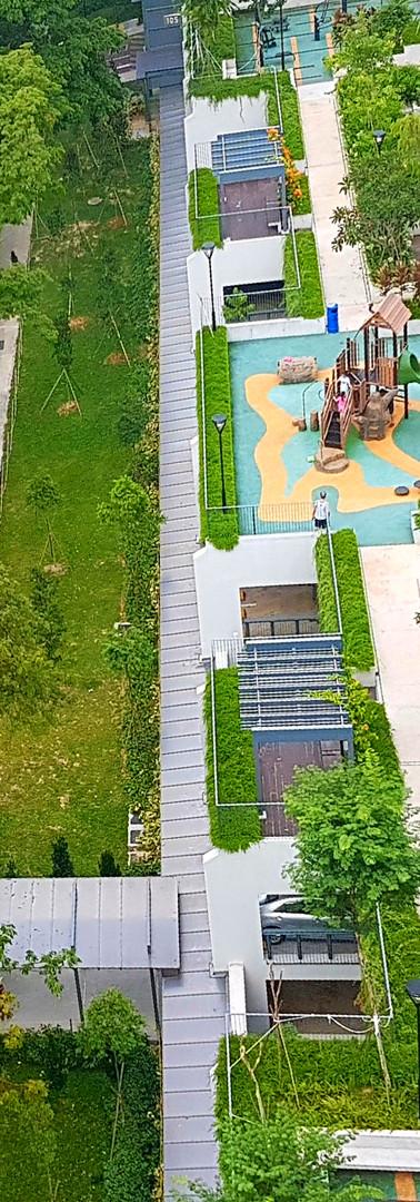 Green rooftops in Telok Blangah