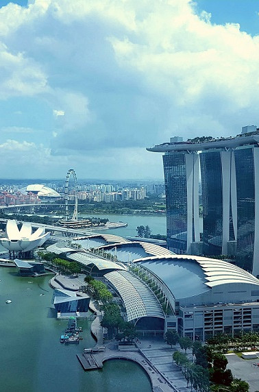 View from The World Bank in Singapore