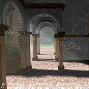 Interior Villa romana tardía