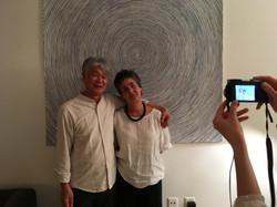 avec Joji Kamo, artwork Livia Gnos