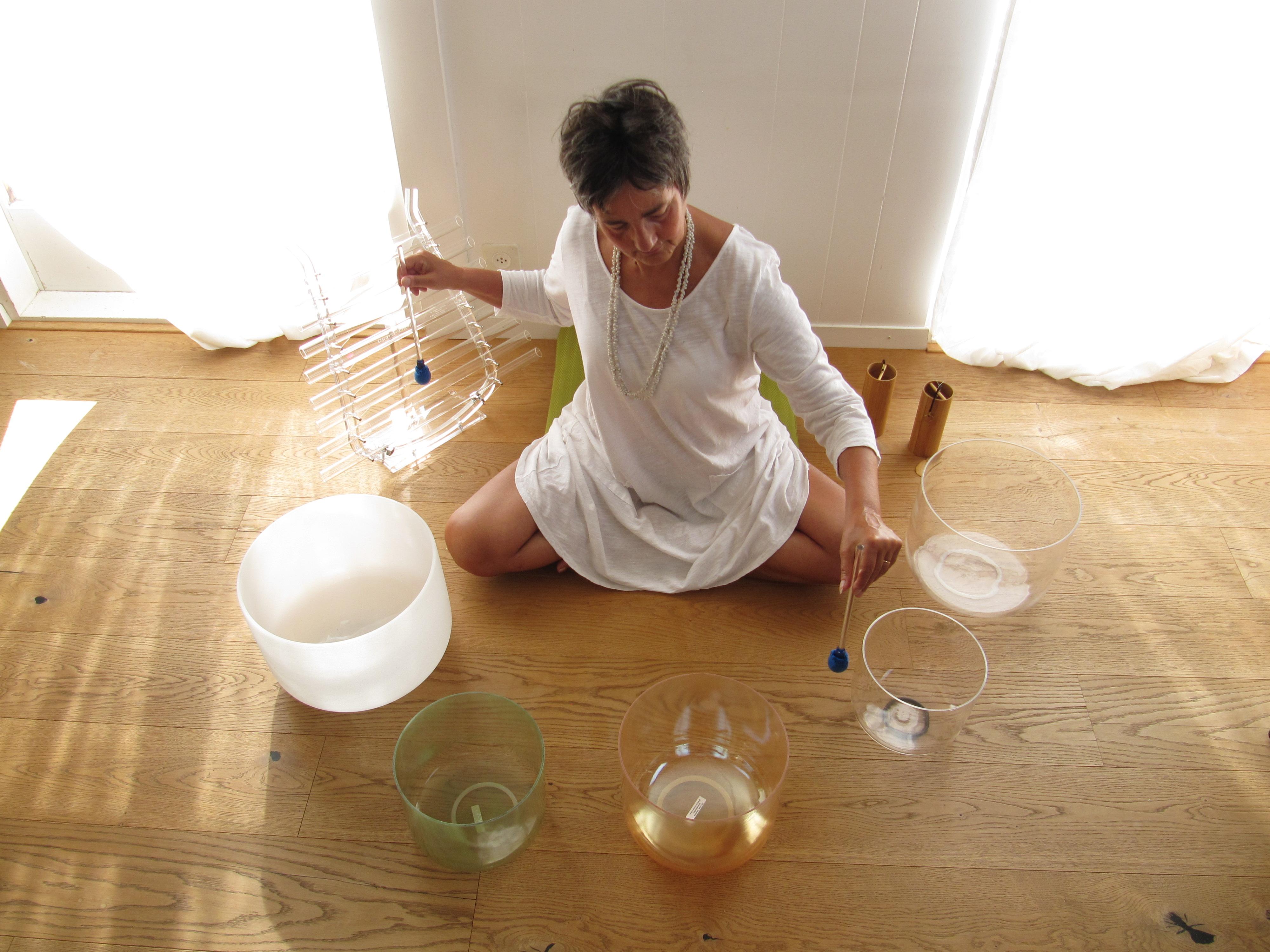 bols de cristal alchimiques
