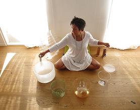 Harr crystal bowls