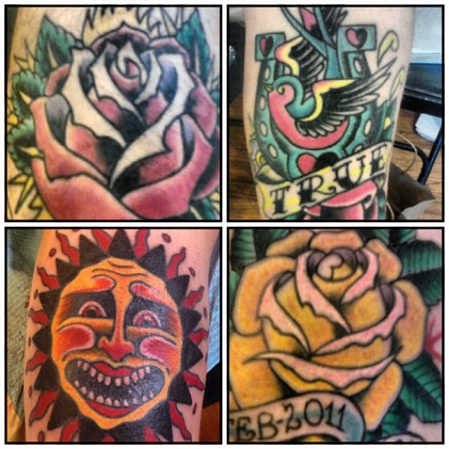 Instagram - Fun traditional tattoos by @mctkep #traditionaltattoos