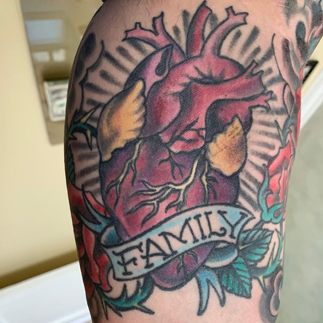 All about Family❤️Heart from a year or s