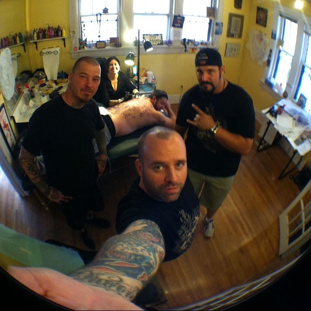 Instagram - Visit from @dlo1976 @ronanddavestattooing