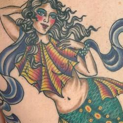 Healed Mermaid on the amazing Christina-