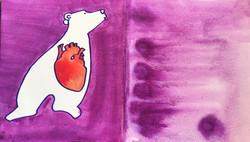red heart bearsmaller