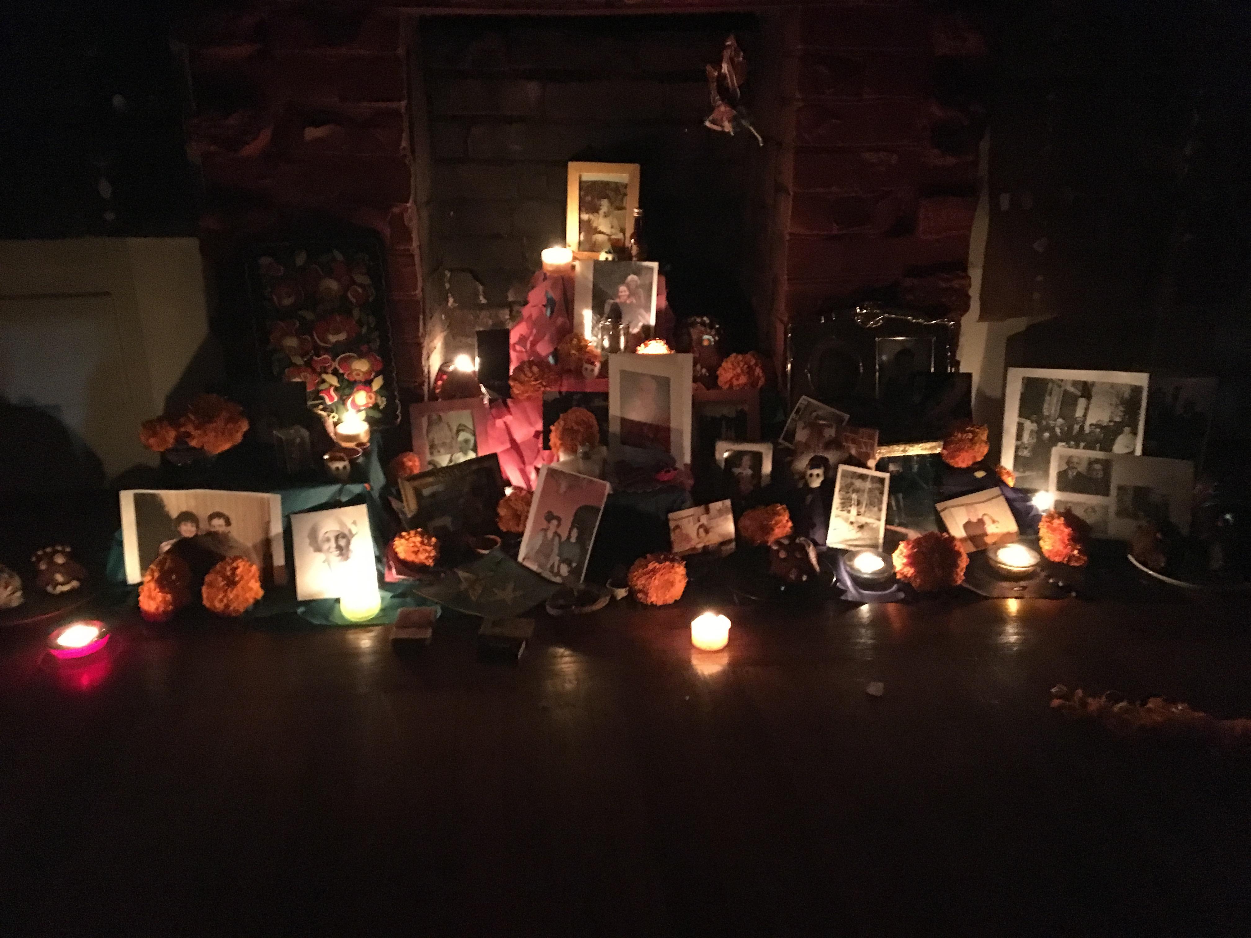 2016 altar inside
