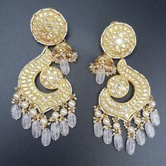 Chand and Jhumki earrings