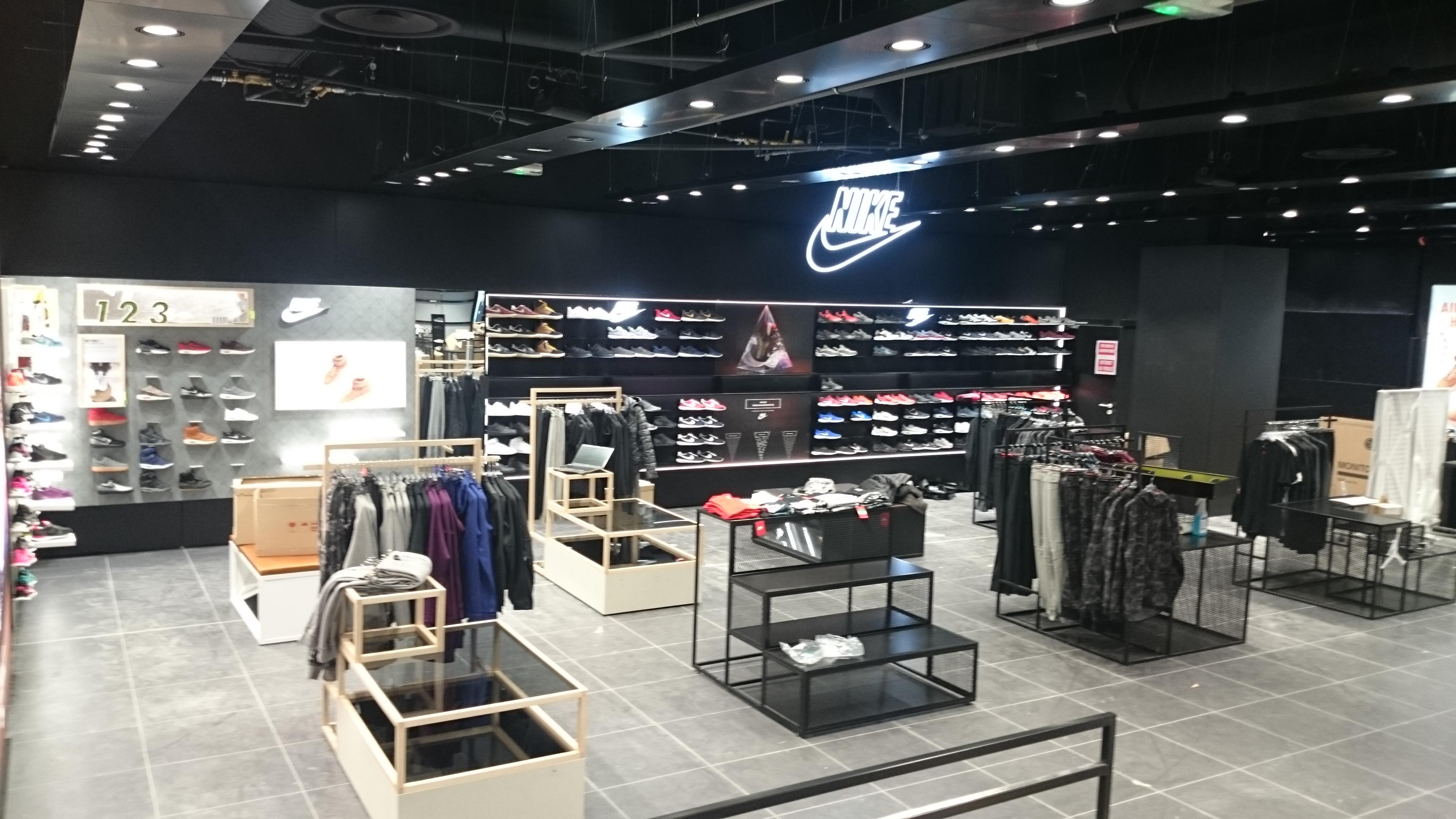 Logo lumineux Nike 2