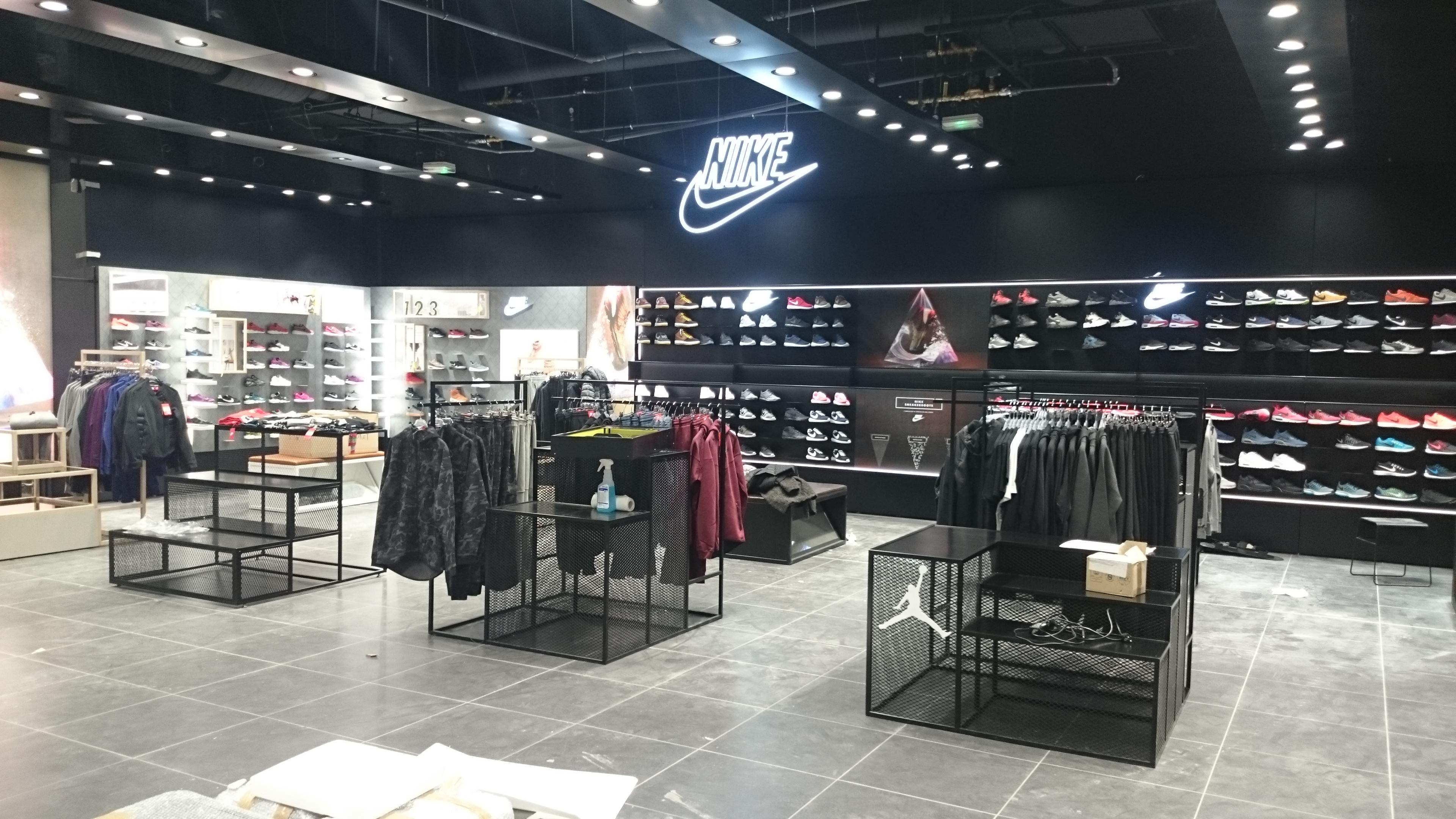 Logo lumineux Nike 1