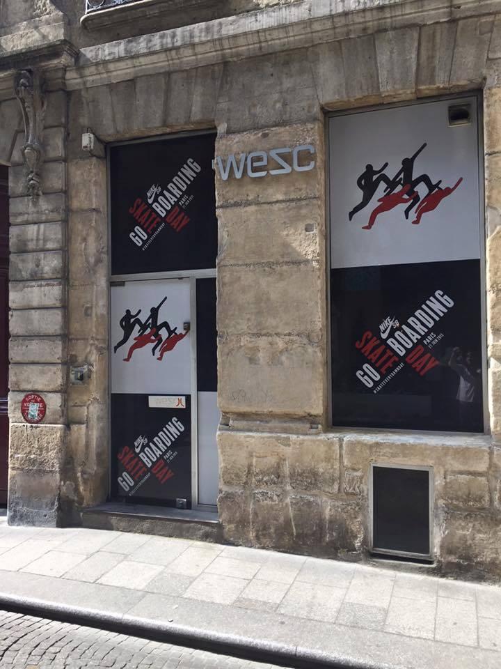 vitrine WESC