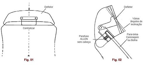 como instalar defletor?