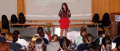 Palestras para mulheres, empoderamento feminino, liderança feminina, motivação feminina