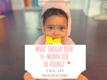 14-Month-Old Child Milestones: 5 Real-Life Examples
