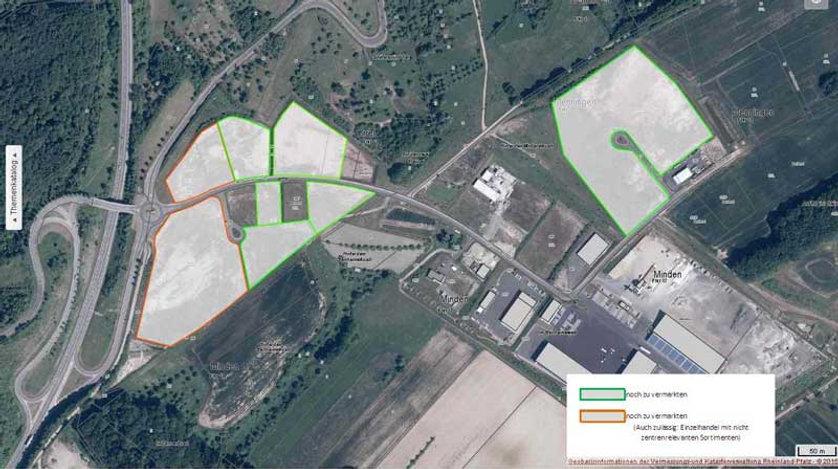 Gewerbepark Südeifel mit freien Grundstücken GE, GI