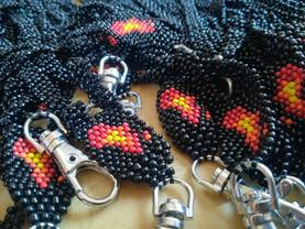 Beaded Branded Lanyards for Dot Africa
