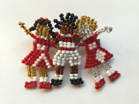 School Tot Brooch for St Mary's