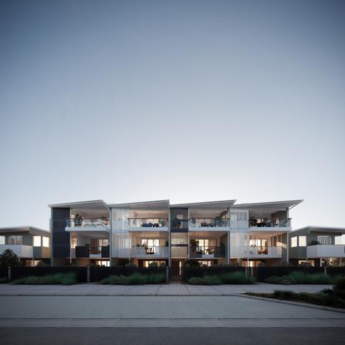 BOKARINA TERRACE STAGE 2 | HOLLINDALE MAINWARING ARCHITECTURE