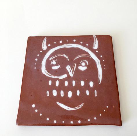 horned spirit tile