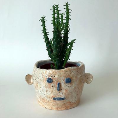 small face pot