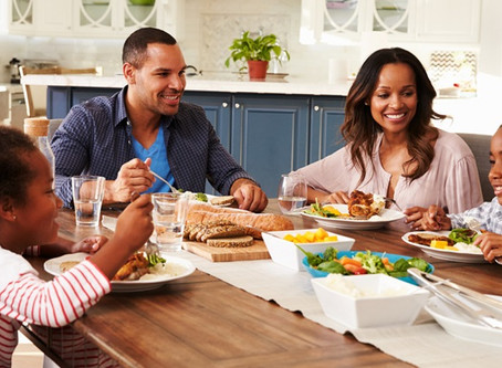 Use Dinner Table Questions To Help Kids Learn About Finances