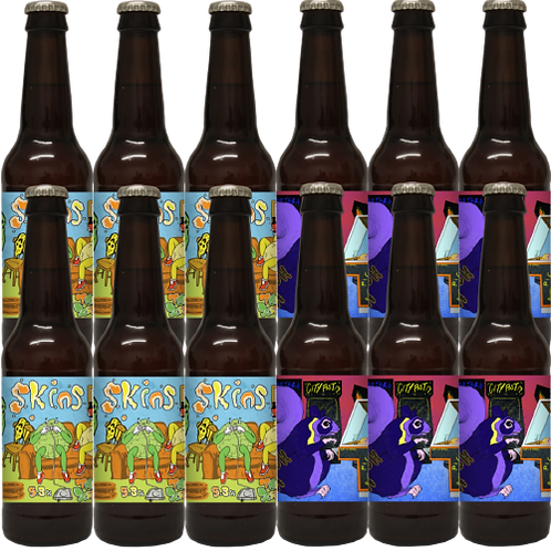 Skins/GABA - 12 x 330ml Bottles