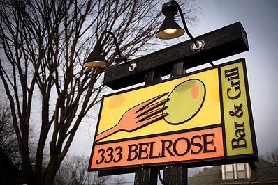 333 Belrose Sign