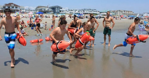 Junior LifeGuard Program - Every Tuesday and Thursday (July 22nd-August 10) from 10:30am-1:00pm at 44th Street Beach
