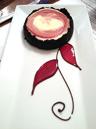 Come Try Our New Desserts at The Gables at Chadds Ford - Blood Orange Cheesecake